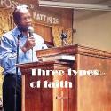 Three types of faith